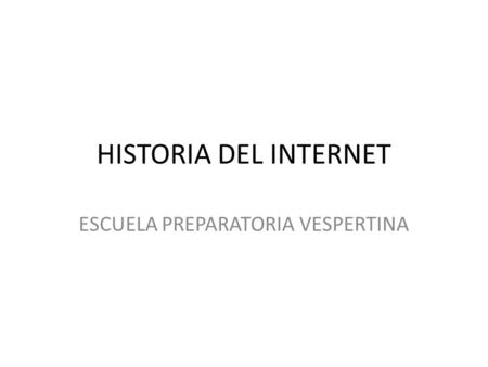 ESCUELA PREPARATORIA VESPERTINA