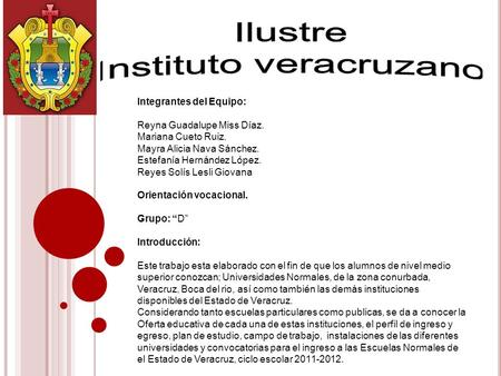 Instituto veracruzano