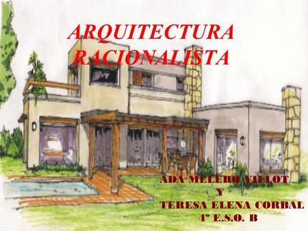 Desarrollo de la arquitectura en el siglo xx la for Arquitectura racionalista
