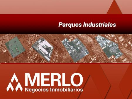 Parques Industriales.