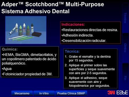 Adper™ Scotchbond™ Multi-Purpose Sistema Adhesivo Dental