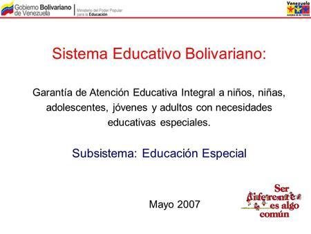 Sistema Educativo Bolivariano: