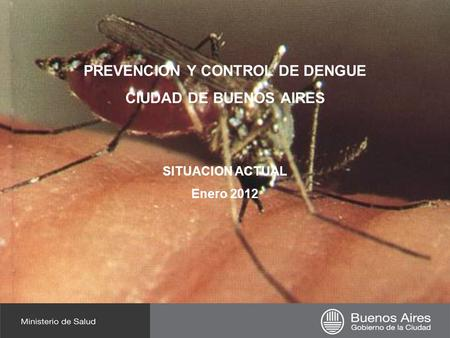 PREVENCION Y CONTROL DE DENGUE