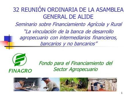 Fondo para el Financiamiento del Sector Agropecuario