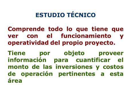 Ingenieria del proyecto ppt descargar for Proyecto tecnico ejemplos