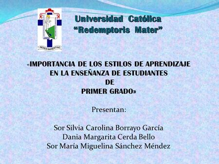 "Universidad Católica ""Redemptoris Mater"""