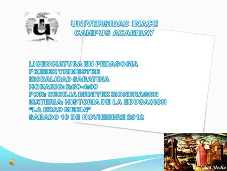 UNIVERSIDAD INACE CAMPUS ACAMBAY