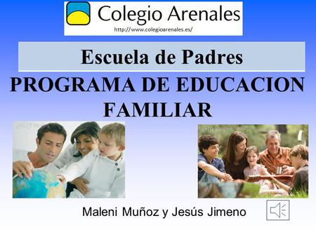 PROGRAMA DE EDUCACION FAMILIAR