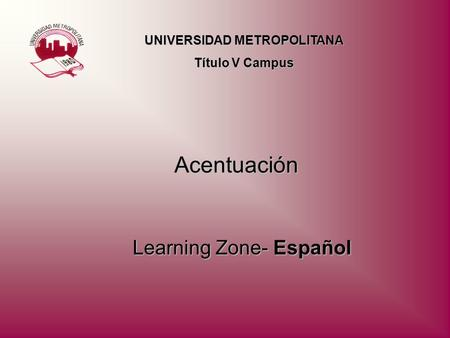 Learning Zone- Español