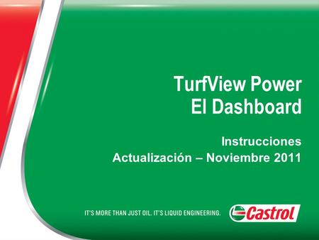 TurfView Power El Dashboard