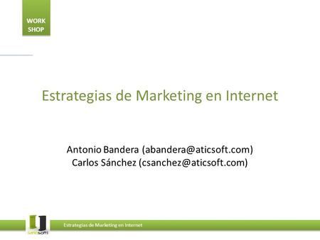 Estrategias de Marketing en Internet