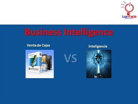 Business Intelligence Venta de Cajas VS Inteligencia.