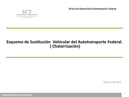 Dirección General de Autotransporte Federal