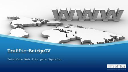 Interface Web Site para Agencia. Traffic-BridgeIV.