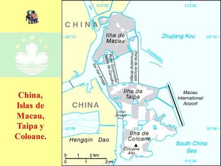 China, Islas de Macau, Taipa y Coloane..