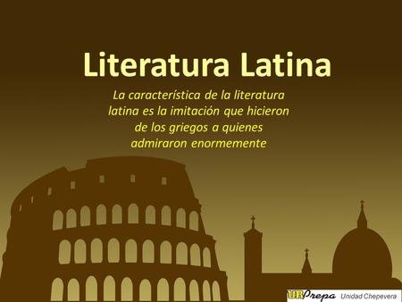 epocas de la literatura latina - photo#38