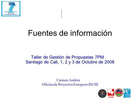 El vii programa marco de investigaci n y desarrollo for Oficina xestion de multas concello de santiago
