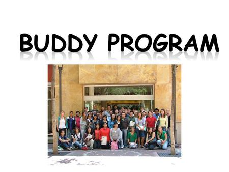 Buddy Program.
