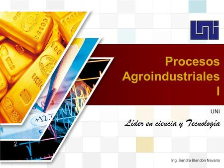Procesos Agroindustriales I