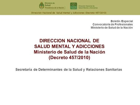 Decreto nacional 3930 de 2010