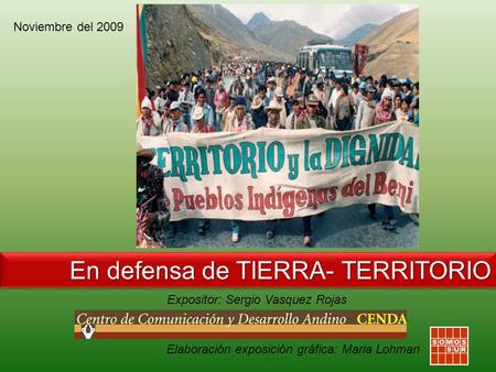 En defensa de TIERRA- TERRITORIO