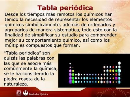 Tabla peridica ppt descargar tabla peridica desde los tiempos ms remotos los qumicos han tenido la necesidad de representar los urtaz Images