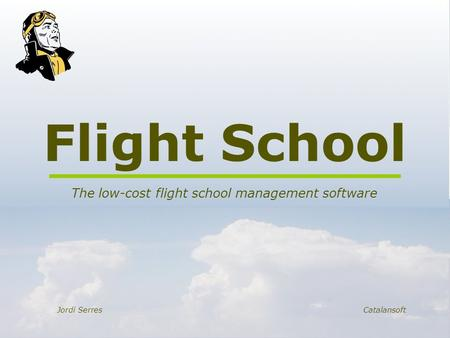 The low-cost flight school management software
