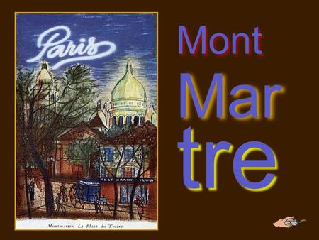 MontMartre Charles Aznavour.