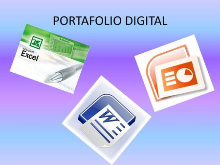 PORTAFOLIO DIGITAL.