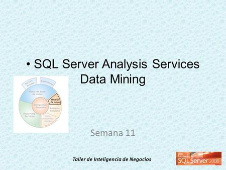 Taller de Inteligencia de Negocios SQL Server Analysis Services Data Mining Semana 11.
