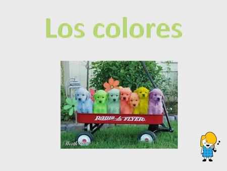 "Los colores As a brainstorming or Do Now activity, play the song ""Los Colores"" (Track 4) from Sing, Laugh, Dance and Eat Tacos. Directions: Write down."