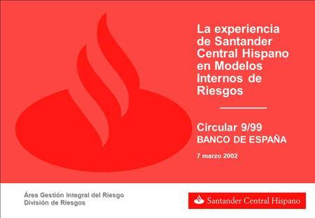 Creditos personales santander central hispano necesito dinero urgente trujillo - Pisos santander central hispano ...