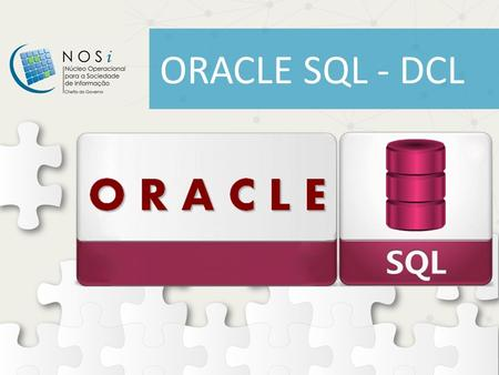 ORACLE SQL - DCL.