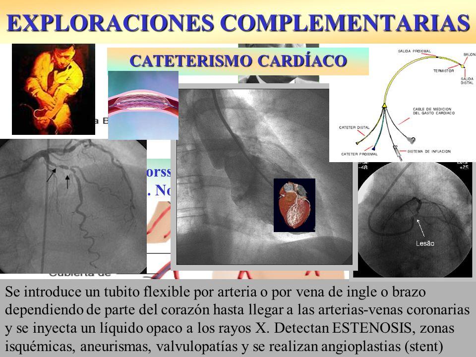 EXPLORACIONES COMPLEMENTARIAS Técnica diagnóstica que consigue ver el interior del cuerpo humano con el endoscopio: tubo con fuente de luz y una cámara: histeroscopia (útero), colonoscopia, laparoscopia (abdomen), artroscopia...