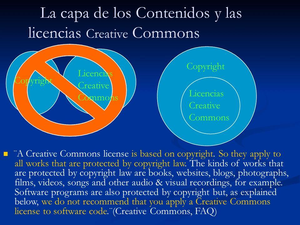 Las licencias Creative Commons ¿Qué es una licencia Creative Commons.