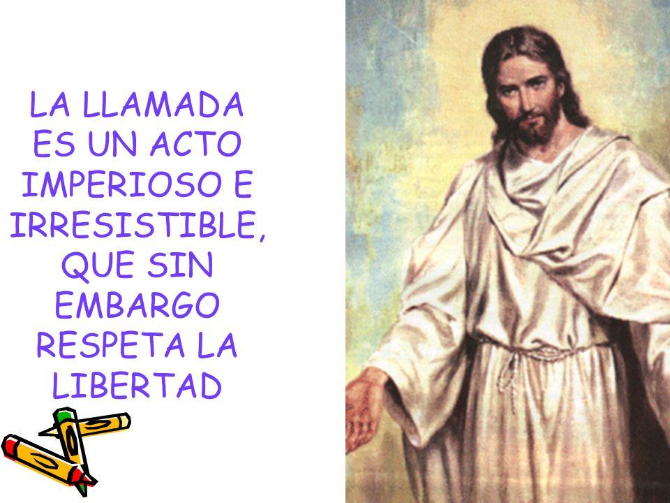 EXIGENCIAS DE LA LLAMADA Jesús exige exclusividad Jesús exige prontitud Jesús exige una opción Definitiva