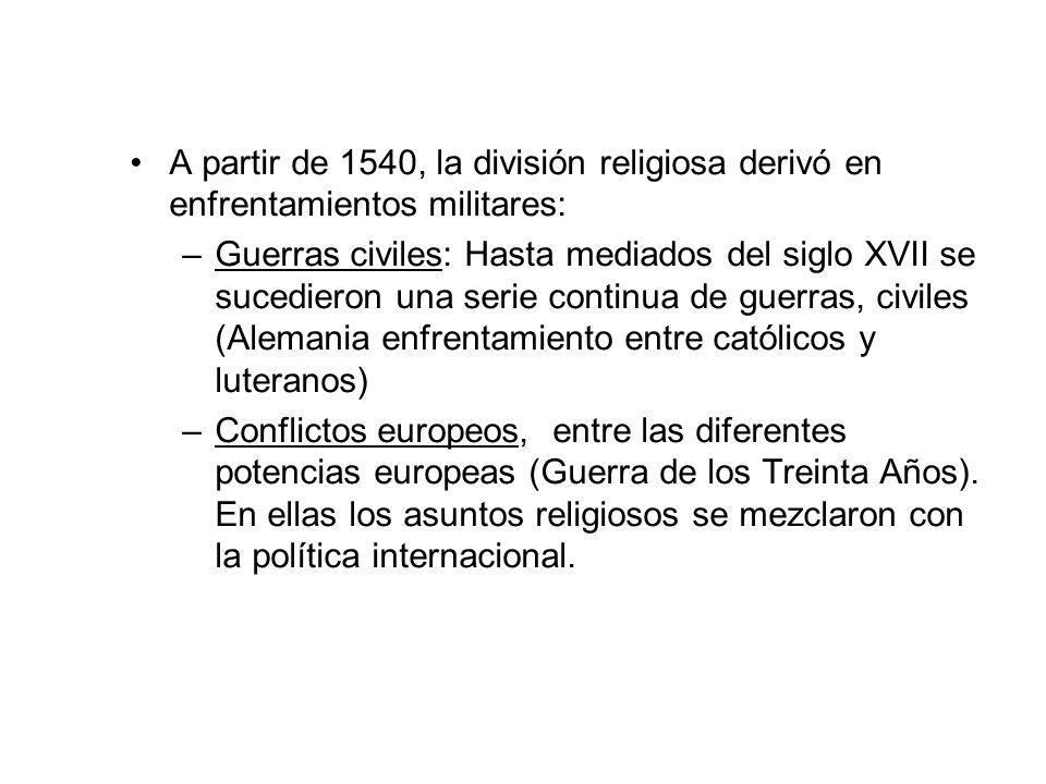 2.3 LA CONTRARREFORMA La Contrarreforma fue un movimiento de reforma dentro de la propia Iglesia católica.