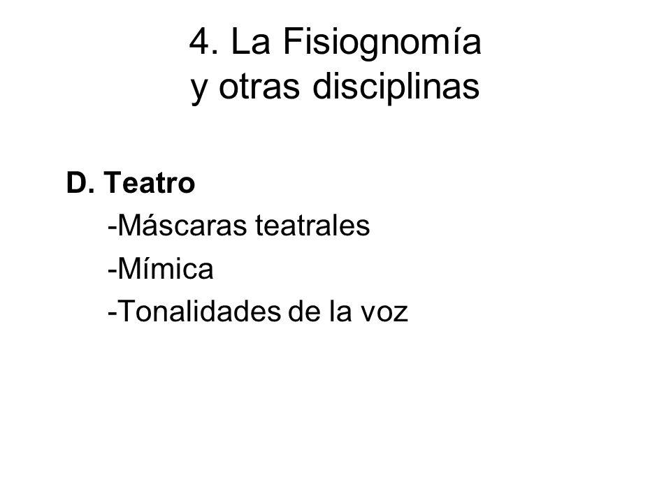 4.La Fisiognomía y otras disciplinas D. Literatura latina -Teatro: Plauto y Terencio.