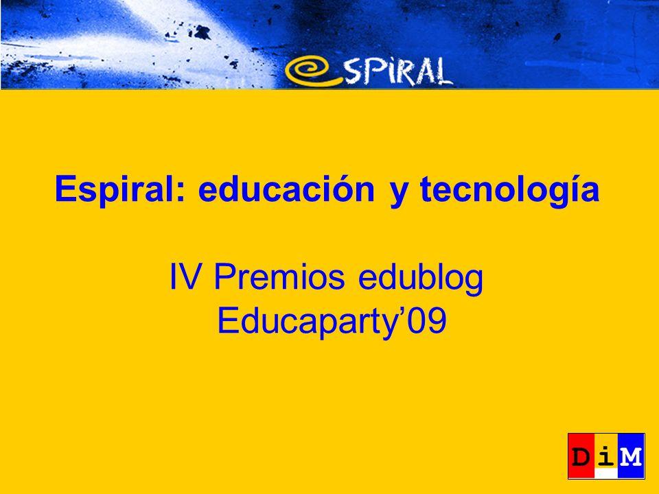 IV Premio edublogs http://edublogs10.ciberespiral.org/