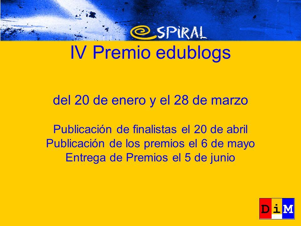 IV Premio edublog Asociaciones de Padres y Madres, E.O.I.