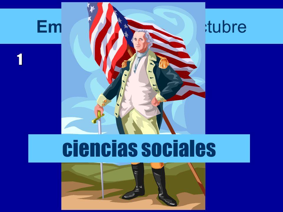 Empieza el 21 de octubre 1 ciencias sociales