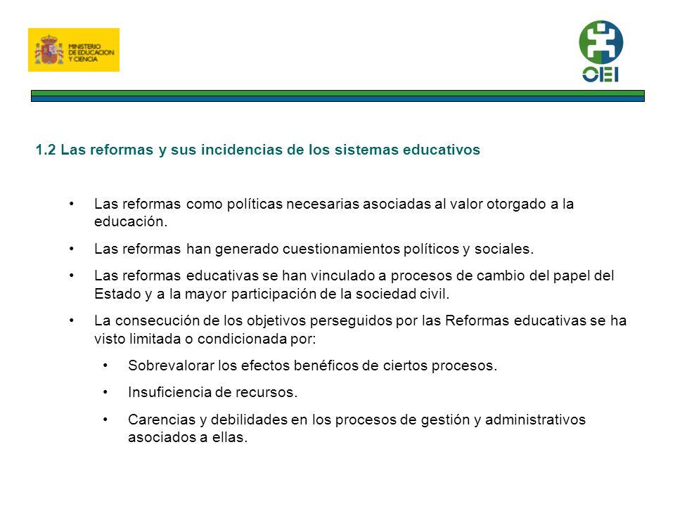 2. INDICADORES DESCRIPTIVOS SOBRE LA EDUCACIÓN EN IBEROAMÉRICA 2.1 Desempeño educativo