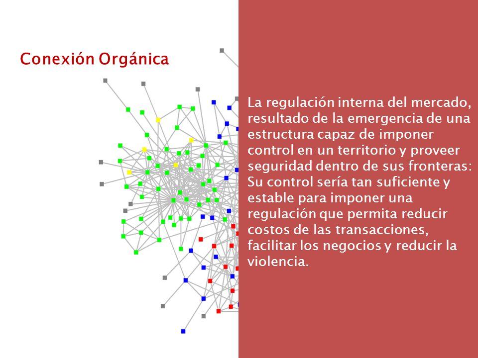 Conexión Sistémica Persiguen el mismo objetivo: el mantenimiento de un entorno de ilegalidad, respaldado por el uso de la violencia (lo que también podríamos llamar el sistema ilegal).