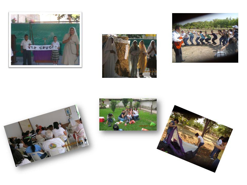 Visita y entrega de víveres en las aldeas marginadas, ancianatos, centro nutricional de Teculután, Hogar Luis Amigó, Rayito de Luz, Pediatría del Hospital Nacional.