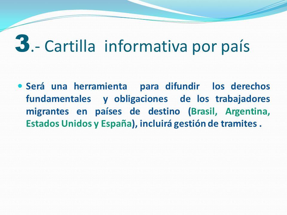 El objetivo es la sensibilización de servidores públicos y actores sociales sobre la temática de migración laboral.