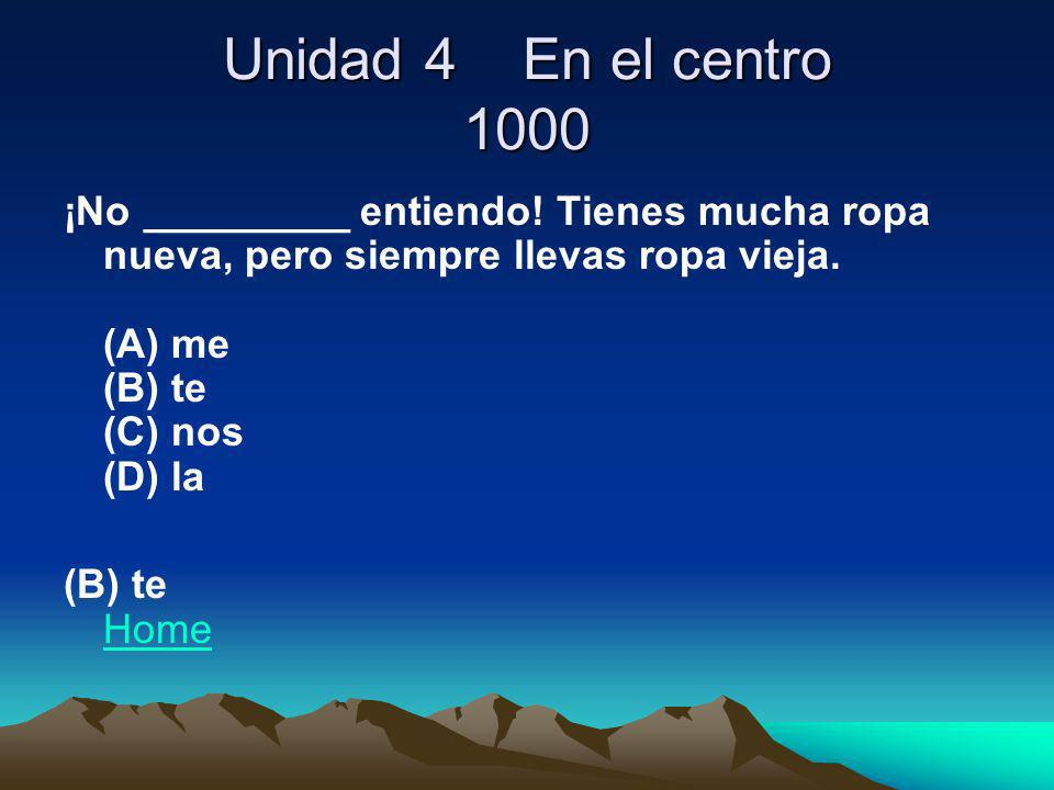 ¿QUIÉN SABE? 100 What is the capital city of Mexico? Mexico City (D. F.) Home