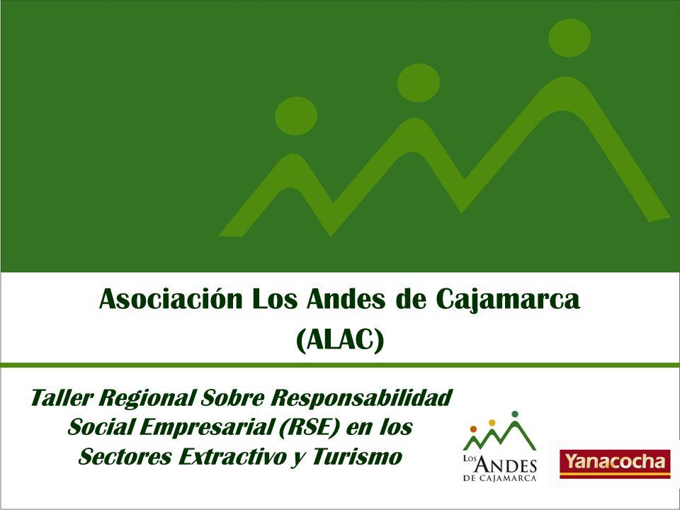ALAC es una organización corporativa que surge como parte del programa de responsabilidad social de Yanacocha para promover el desarrollo humano sostenible en la región.