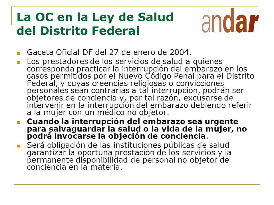 La OC en el estado de Morelos Adicionada el 11 de diciembre de 2008.