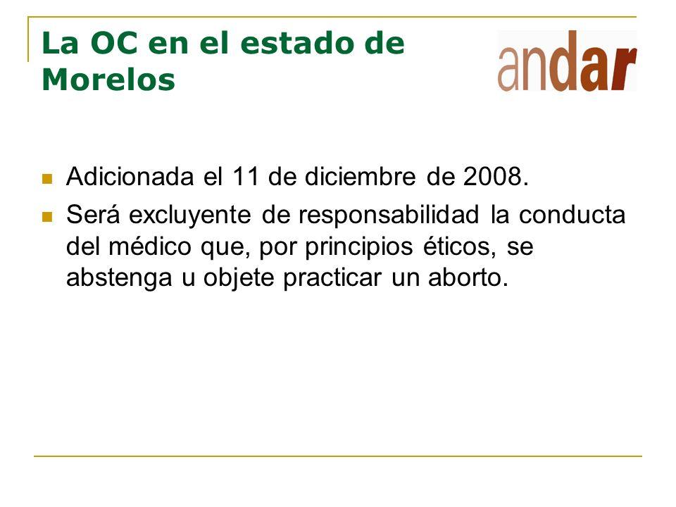 La regulación de la OC en el estado de Jalisco El Periódico oficial de Jalisco, 7 de octubre de 2004.
