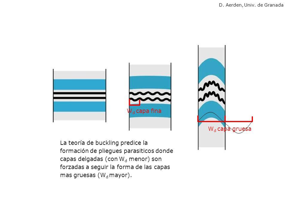 LIMITACIONES DE LA TEORIA DE BIOTT y RAMBERG 1.Solo válido para pliegues abiertos (angulo entre flancos hasta 150°) 2.No considera cambios de longitud o espesor de la capa (deformación interna).